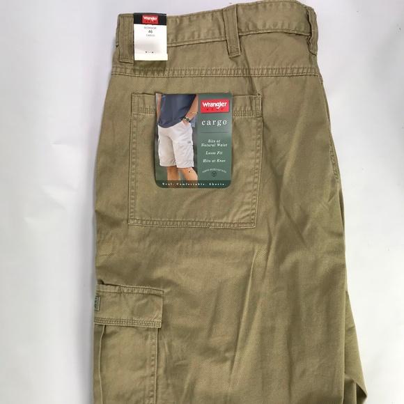 eafe09a6c9 Wrangler Shorts | Mens Hero Cargo Khaki Size 46 | Poshmark